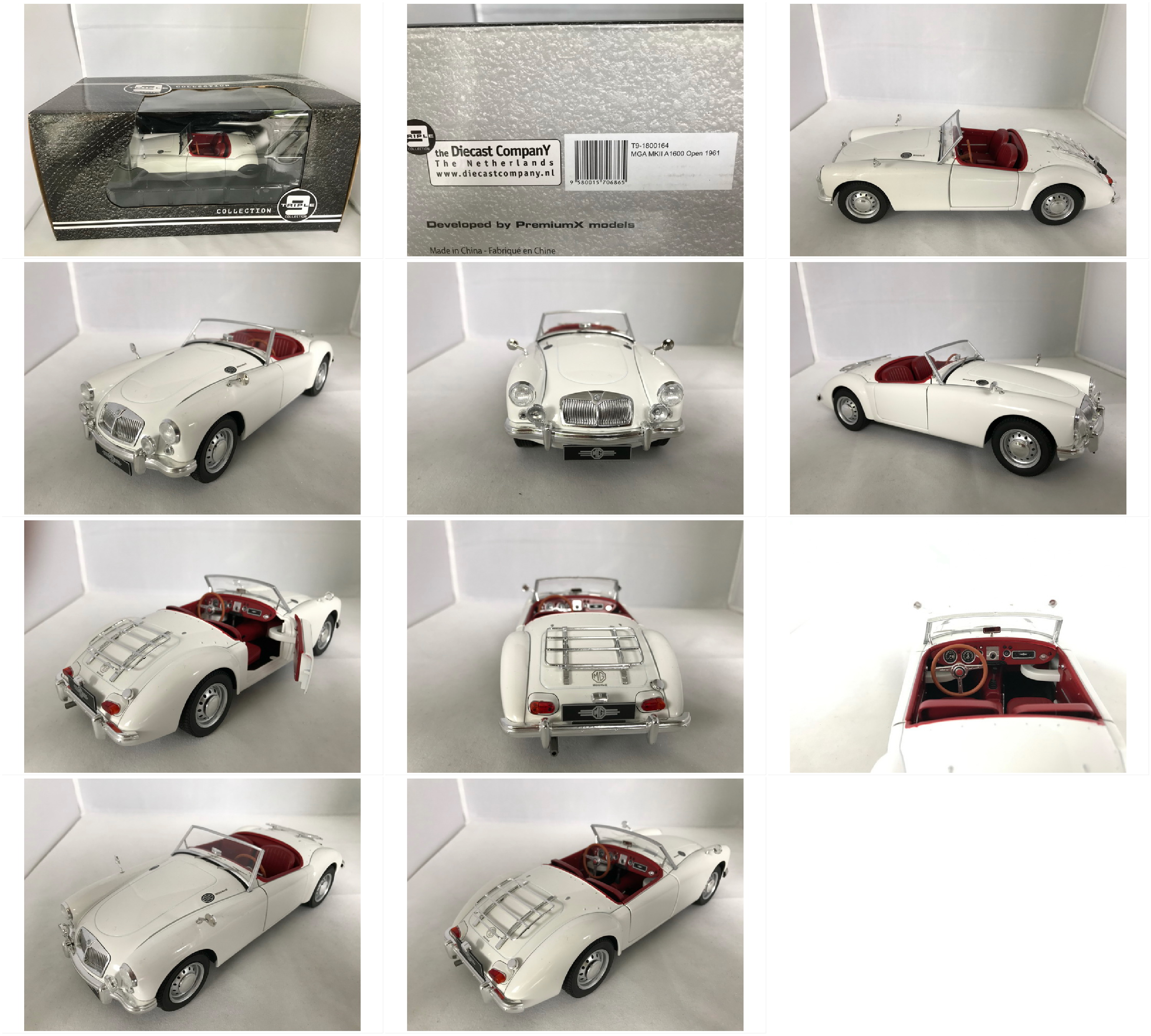 Possible speak diecast mg midget